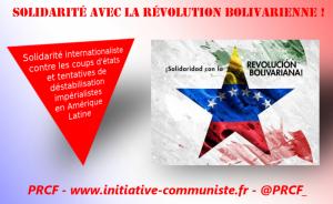 solidarité venezuela coup d'état