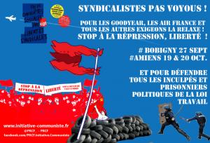 #AirFrance 27 sept. TOUS au tribunal de Bobigny pour soutenir les travailleurs attaqués par le gouvernement Valls MEDEF !