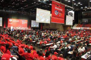 XVIIe congrès de la Fédération Syndicale Mondiale à Durban .