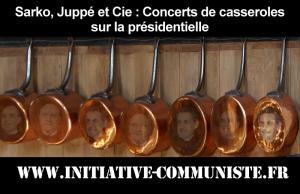 Affaires Sarkozy, Juppé et Cie : Concerts de casseroles sur la présidentielle – par Léon Landini