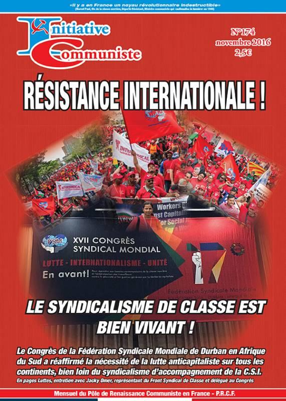 une-initiative communiste-174-novembre 2016
