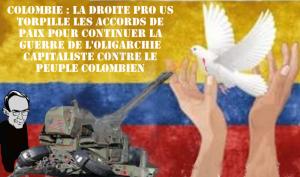 La droite veut la guerre en Colombie : le NON à l'accord de paix l'emporte de peu dans un referendum boudé par les électeurs.