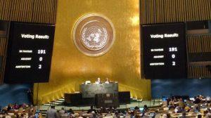 A l'ONU le blocus de Cuba condamné. #UNAG #UN
