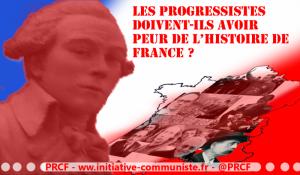 Les progressistes doivent-ils avoir peur de l'histoire de France ? par Georges Gastaud #identité #nationale