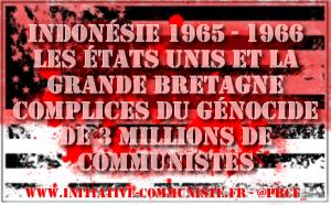Indonésie : les preuves du génocide anticommuniste issues des archives impliquent les États-Unis