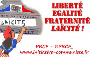 Défendre la laïcité,rejeter la nouvelle déferlante anti-musulmane : s'unir pour la République sociale, souveraine et démocratique !