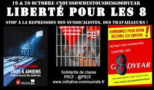 Tous à Amiens les 19 et 20 octobre! Nous sommes tous des Goodyears ! Relaxe pour les 8