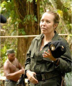 """Nathalie, """"la Francesa"""" des FARC ."""