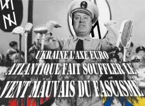 """Parubiy le président du parlement ukrainien soutenu par le régime Macron trouve qu' """"Hitler est le plus grand démocrate"""""""