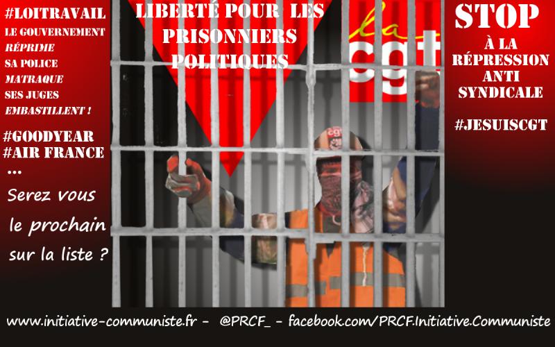 repression-prisonniers-politique-loi-travail