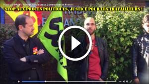 #LoiTravail : Nicolas J et Nicolas P inculpés pour avoir manifesté : leur appel à l'action et la solidarité en #Vidéo devant le TGI de Bobigny !