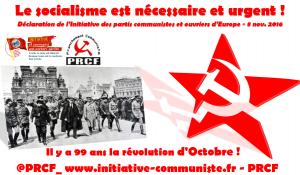 """99e anniversaire de la Révolution d'Octobre : """"Le socialisme est nécessaire et urgent"""" – déclaration de l'IC wpe"""