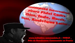 Réactions à la mort de Fidel Castro : internationalistes, syndicalistes, chefs d'État, le monde entier pleure la disparition du Commandante