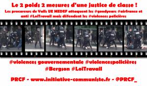 #violencespolicières Procès du policier frappant un lycéen de #Bergson : justice à deux vitesses, justice de classe !