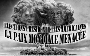 Élections présidentielles américaines : menace sur la paix mondiale !