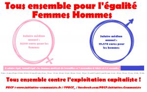 #8mars l'émancipation des femmes passe par une lutte résolue contre Macron, l'UE, l'OTAN et le Capitalisme !