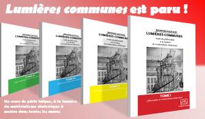 Lumières communes cours de philosophie de Georges Gastaud est paru !