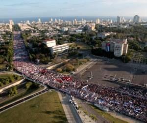 Cuba : mobilisation révolutionnaire autour du dernier adieu à Fidel Castro