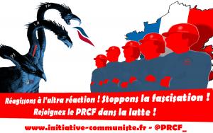 #primairedroite #présidentielles2017 Réagir à l'ultra-réaction ! – déclaration du PRCF 24/11/2016