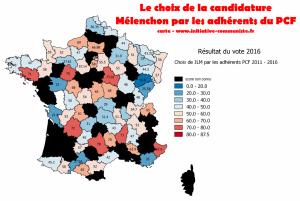 À 53% le PCF soutient la candidature Mélenchon #JLM2017