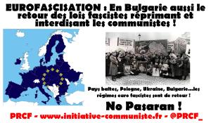 Totalitarisme et répression anticommuniste en Bulgarie !