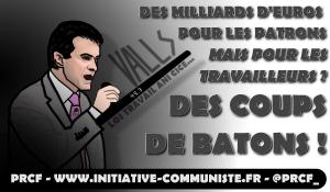 Valls : le matraqueur en chef, candidat des primaires de l'autre droite !