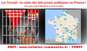 #LoiTravail : IC a recensé plus de 500 procès politiques. Après les violences policières la répression judiciaire