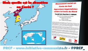 Quelle est la situation en Corée ? une conférence à Grenoble le 30 janvier 2017 !