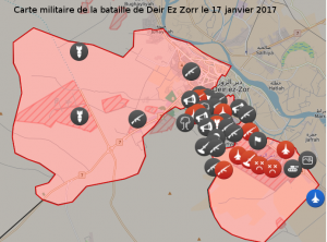 A Deir Ez Zorr assiégée, l'armée syrienne résiste face à l'Etat Islamique #daech #syrie
