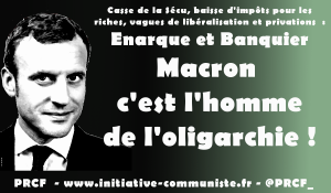 Macron candidat du système : Drahi, Herman, MEDEF… ses liens avec l'oligarchie capitaliste.