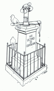 Un mémorial en hommage aux victimes du capitalisme ?