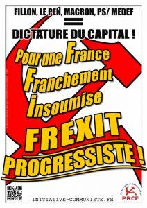 Le PRCF et la France Insoumise .