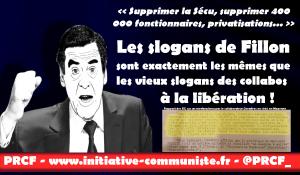 Le programme de Fillon ? les même vieilles mesures que la droite collaborationniste de Vichy !
