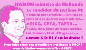 Hamon, le candidat qui prend les terroristes pour des démocrates –  par Burno Guigue
