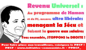 Revenu Universel : une mesure ultra libérale menaçant la Sécu et renforçant la guerre aux salaires [EtincelleS]