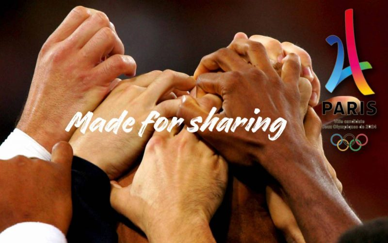 JO Paris 2024 made for sharing
