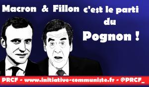 Macron Fillon c'est le parti du Pognon ! par Bruno Guigue