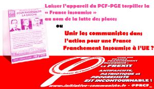 HAMON, l'« unité » sans contenu, ou comment les appareils du PS et du PCF-PGE veulent prendre en étau l'espace politique « insoumis »  par Georges Gastaud
