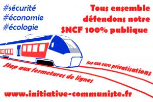 La privatisation de la SNCF dans le collimateur de Macron-Thatcher, de l'UE et du MEDEF ! #tract #cheminots