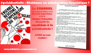 #présidentielle Résistance ou collaboration linguistique ?  2012-2017 : le Parti Socialiste et Europe Ecologie Les Verts, fossoyeurs de la langue française