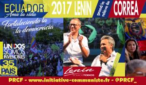 Élections en Equateur : Lenin pour continuer la révolution citoyenne lancée par Rafael Correa