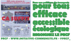 Une politique des transports pour tous, efficace accessible et écologique : Le PRCF en action #vidéo