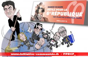 #18mars La France à la #Bastille pour dégager l'UE, le MEDEF et ses Fillon, Macron, Hamon & Le PEN !