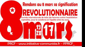 Rendons au 8 mars sa signification révolutionnaire