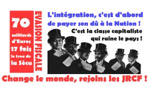 L'intégration, c'est d'abord de payer son dû à la Nation ! #JRCF