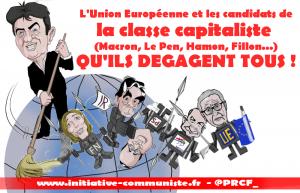 Fillon, Le Pen Macron le Medef et l'UE …  le qu'ils dégagent tous de Mélenchon est justifié [Tribune de R Charvin] [Reprise]