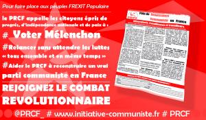 Révélant l'état explosif dans lequel se trouve la France, la campagne électorale s'emballe [communiqué du PRCF