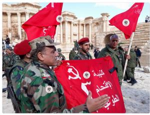 Palmyre libérée, avec l'aide de la Russie et de l'Iran, la Syrie fait reculer Daech !