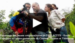 Au Venezuela, La terre est à tous et autres documentaires avec l'aide de l'école Populaire de Cinéma.