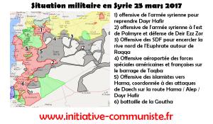 Des soldats US et français combattent en Syrie ! L'armée syrienne fait reculer Daech.